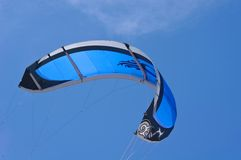 Blue kite Royalty Free Stock Photos