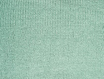 Blue knitted background Royalty Free Stock Image