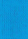 Blue knitted background Royalty Free Stock Images