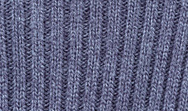 Blue knitted cotton mesh Royalty Free Stock Images