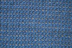 Blue knitted fabric Royalty Free Stock Image