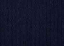 Blue knitted fabric Royalty Free Stock Images