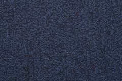 Blue knitted melange fabric cloth pattern Stock Photography