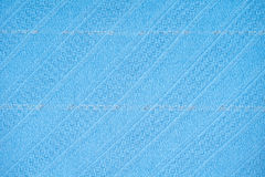 Blue knitted wear Royalty Free Stock Photo