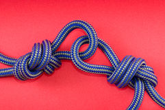 Blue knot Royalty Free Stock Photography