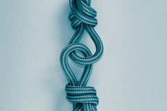 Blue knot Royalty Free Stock Photos