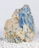 Blue kyanite blades Royalty Free Stock Photos