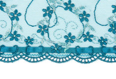 Blue lace Royalty Free Stock Image