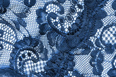 Blue lace background Stock Photos