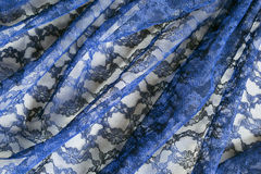 Blue lace Stock Photo