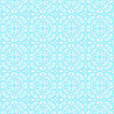 Blue lace pattern Royalty Free Stock Images
