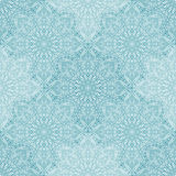 Blue lace seamless pattern Royalty Free Stock Photography