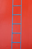 Blue ladder Stock Photos
