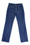 Blue ladies jeans Stock Image