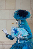 The blue lady Royalty Free Stock Images