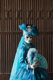 The blue lady Royalty Free Stock Photo