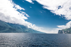 Blue Lago di Garda Royalty Free Stock Images