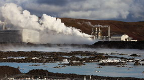 The Blue Lagoon Stock Images