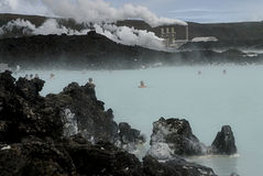Blue Lagoon Stock Photos