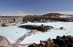 Blue Lagoon. Spa in Iceland stock photos