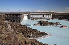 Blue Lagoon. Spa in Iceland stock photo
