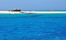 Blue Lagoon. On the Mediterranean Sea Stock Photo