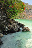 Blue lagoon royalty free stock photography