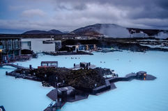 Blue lagoon Royalty Free Stock Photos