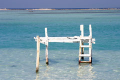 Blue Lagoon. Los Roques Venezuela, summer 05, clr Royalty Free Stock Images