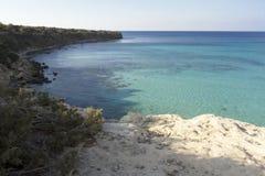BLUE LAGOON BEACH, CYPRUS Stock Images