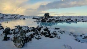 Blue Lagoon Bláa Lónið Iceland stock photography