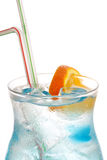 Blue lagoon cocktail Royalty Free Stock Photos