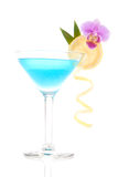 Blue lagoon cocktail Stock Image