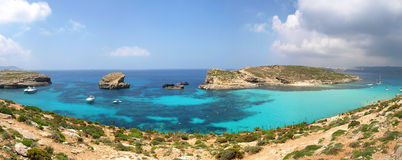 Blue Lagoon Comino Royalty Free Stock Image