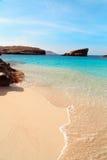 The Blue Lagoon on Comino Island, Malta Royalty Free Stock Photos