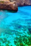 The Blue Lagoon on Comino Island, Malta Gozo Royalty Free Stock Photography