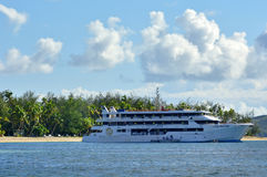 Blue Lagoon Cruises ship Fiji Stock Photo