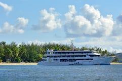 Blue Lagoon Cruises ship Fiji Stock Photo