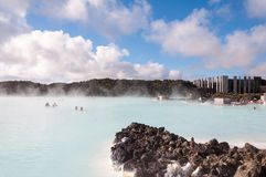 Blue Lagoon - famous Icelandic spa centre, Iceland Stock Photography