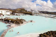 Blue Lagoon - famous Icelandic spa centre, Iceland Royalty Free Stock Photo