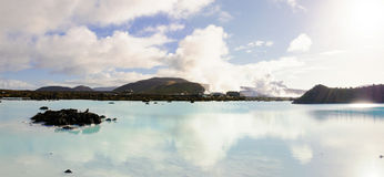 Blue Lagoon - famous Icelandic spa and Geothermal plant, Iceland Stock Images