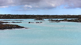 Blue Lagoon geothermal spa in Iceland Stock Photos