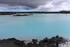 Blue Lagoon geothermal spa in Iceland Royalty Free Stock Photo