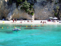 Blue Lagoon Greece Royalty Free Stock Photos