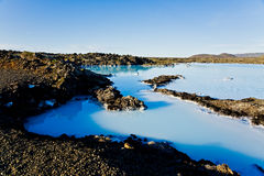 Blue Lagoon, Iceland Royalty Free Stock Image