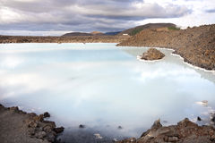 Blue lagoon Iceland Royalty Free Stock Photo