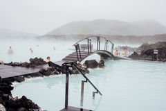 Blue Lagoon in Iceland Royalty Free Stock Photos
