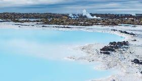 Blue Lagoon, Iceland stock photos