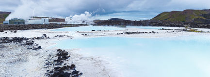 Blue Lagoon, Iceland Stock Photography