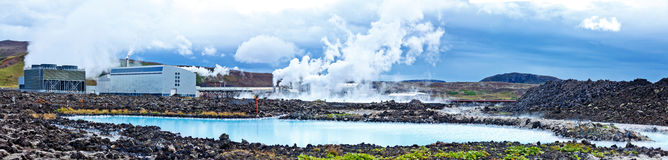 Blue Lagoon, Iceland royalty free stock photography